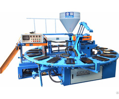 Pvc Air Blow Shoe Injection Molding Machine