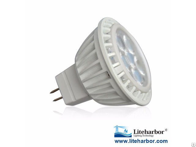 Aluminum Heat Sinking 12v Ac Dc Ul Listed Led Mr16 Bulb
