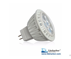 Aluminum Heat Sinking 12v Ac Dc Ul Listed Led Mr16 Bulb