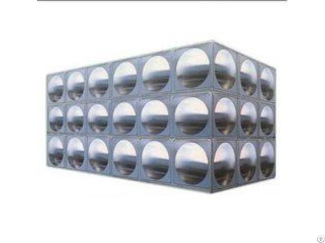 Bolts Assembled Frp Panels Tanks Fibreglass Water Tank