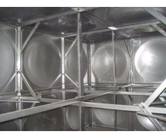 Smc Frp Panel Type Water Storage Tanks