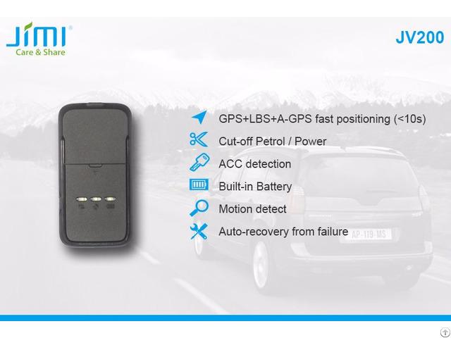 Jv200 Mini Anti Theft Vehicle Gps Tracker