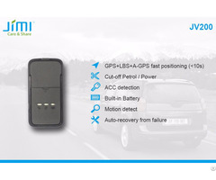 Jv200 Mini Anti Theft Vehicle Gps Tracker