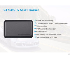 Gt710 Asset Gps Tracker With Long Standby Time