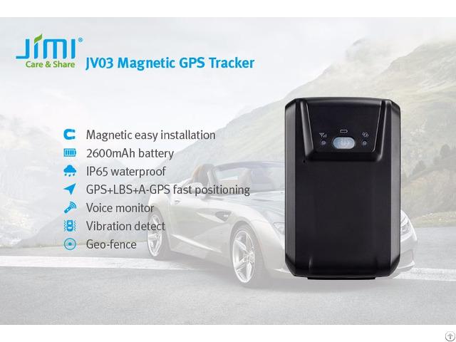Jv03 Magnetic Gps Tracker