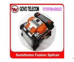 Japan Sumitomo Type 81c Fusion Splicer Fc 6s Fiber Cleaver And Bu 11 Battery