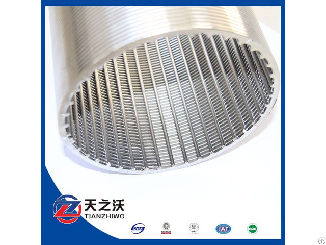 Johnson Stainless Steel Screen Pipe