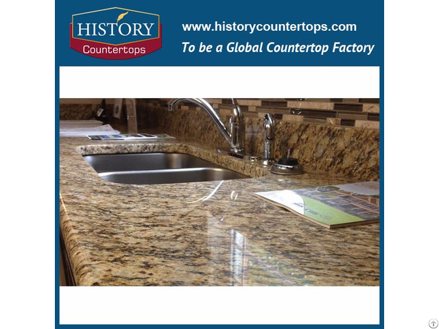 Santa Cecilia Granite Kitchen Countertops And Vanity Top
