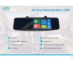 Jc600 3g Android Gps Navigation Rearview Mirror Dvr