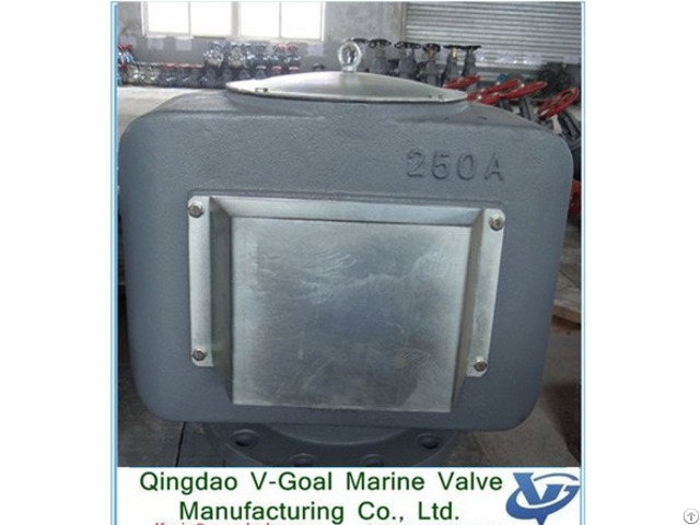 Jis Cast Iron Air Vent Head Ks91a Dn100 400