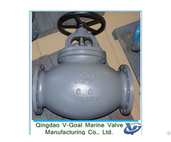 Marine Cast Steel Straight Globe Valve