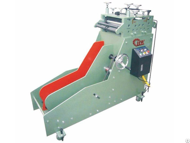 Auto Uncoiling And Straightening Machine