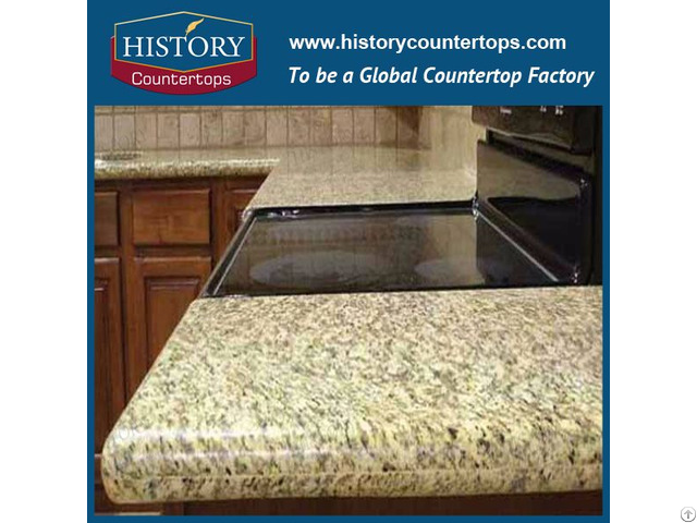 Tiger Skin Yellow Granite Kitchen Countertops And Vanity Top