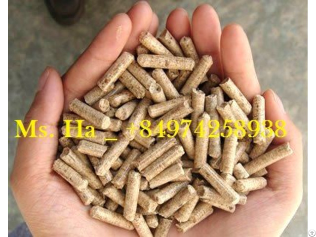 Wood Pellets 6mm From Vietnam For Power Plant