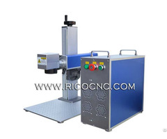 Portable Desktop Fiber Laser Metal Marking Machine