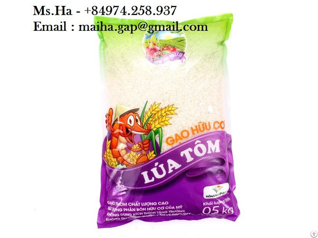 Fragrant Jasmine Rice Vietnam 5% Broken Long Grain