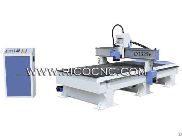 Cnc Router Wood Cutting Machine For Mdf Board Furniture Nesting D1325v