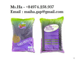 Organic Black Long Grain From Vietnam For Sale