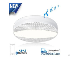 12w Ceiling Led Bluetooth Speaker Light