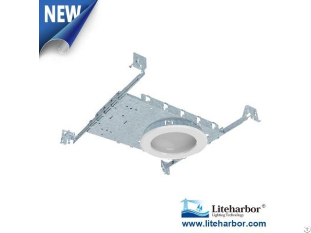 Six Inch New Construction Round Interior Ceiling Led Dome Light