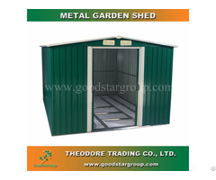 Good Star Group Metal Garden Shed Outdoor Tools Bicycle Storage