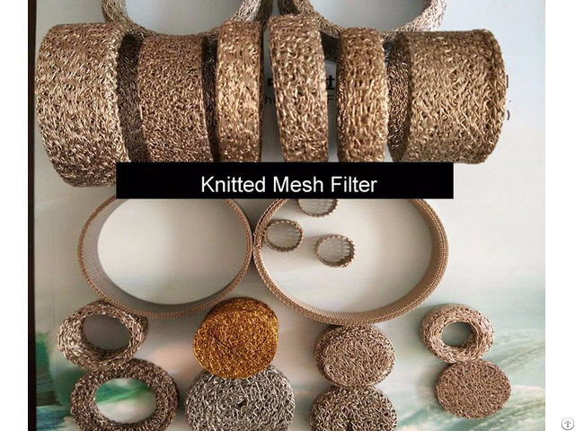 Knitted Mesh Filter