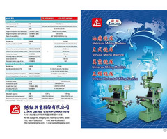 Universal Milling Machine Cf 2570hu