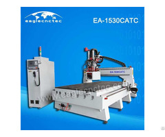 Woodworking Carousel Atc Cnc Router Machining Center Ea 1530catc