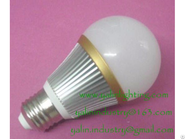 High Quality 5w E27 B22 Led Bulb Lights With Milky Cover