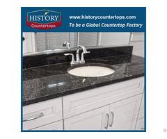 Black Pearl Granite For Kitchen Countertops And Vanity Tops