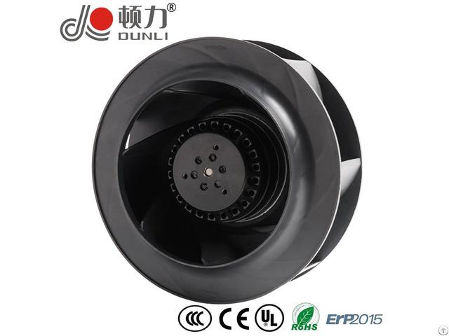 Ac Centrifugal Backward Curved Fan 7in External Rotor Motor Powered Ywf B2s