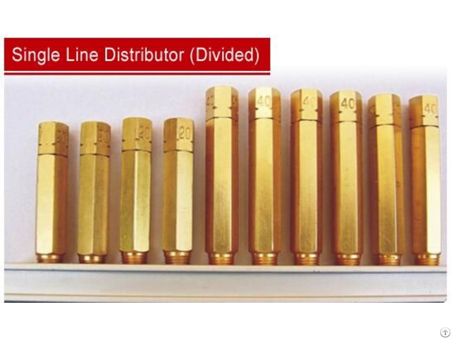 Grease Distributor Lubrication System Divider Valve