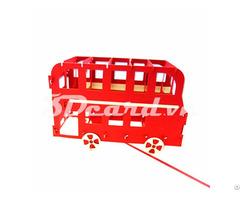 Double Bus In London 3d Pop Up Greeting Card