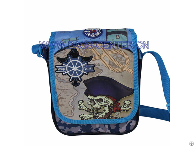 420d Jacquard Kids Shoulder Bags
