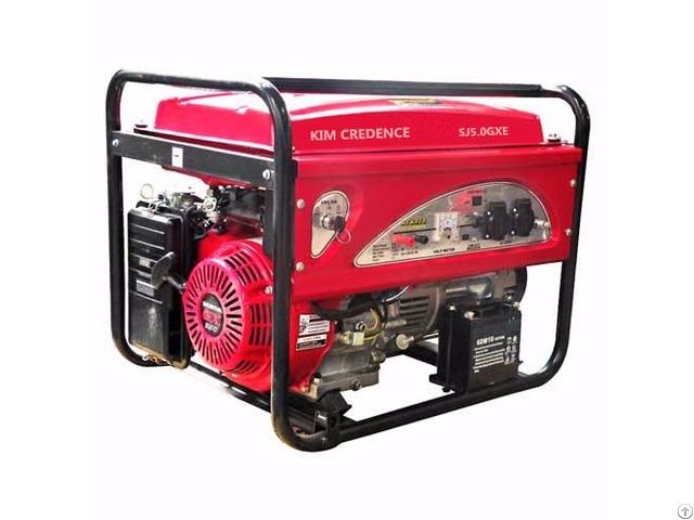 Sj5500 5kw Gasoline Generator