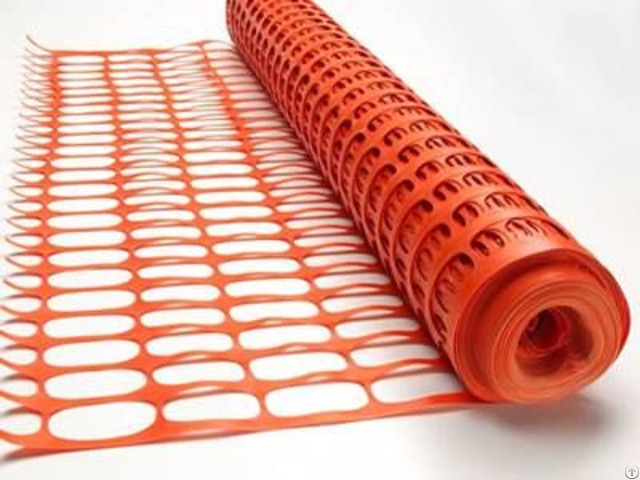 Orange Barrier Fencing Mesh