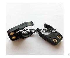 Black Bt30 Tool Finger Plastic Bt Toolholder Cnc Forks For Wood Engraving Machines