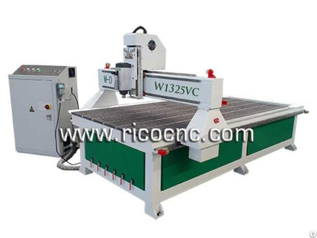 Wood Cnc Router Slatwall Making Tool Mfc Mdf Panels Cutting Machine W1325vc