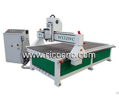 Wood Cnc Router Slatwall Making Tool Mfc Mdf Panels Cutting Machine W1325vc