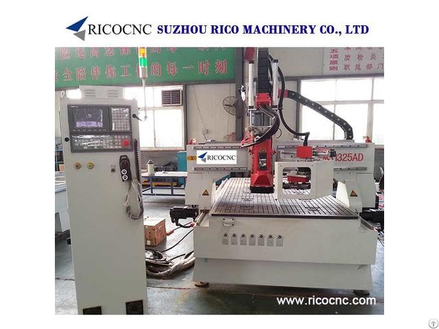 Wall Panels Cutting Machine Wood Cnc Router Atc1325ad