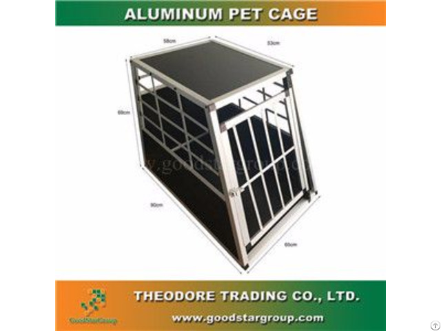 Good Star Group Pet Crate Single Door Large Size Cage Kennel Travel Carrier Dog House