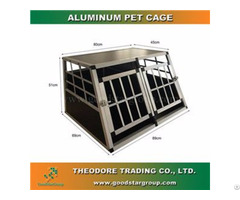 Good Star Group Pet Crate Double Door Small Size Cage Kennel Travel Carrier Dog House
