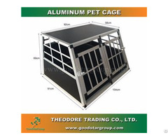 Good Star Group Pet Crate Double Door Large Size Cage Kennel Travel Carrier Dog House
