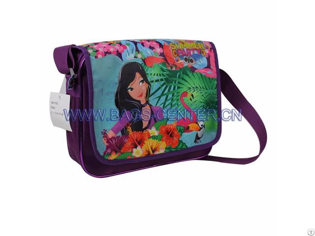 Twilled Shoulder Bag For Kids