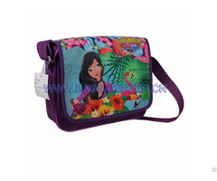 Twilled Shoulder Bag For Kids