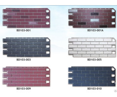 Exterior Siding Panel Pp Decorative Wall Cladding Board