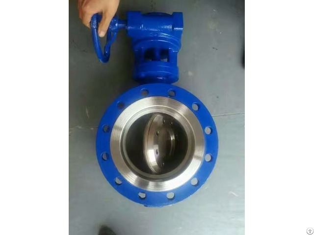 High Performance Double Eccentric Resilient Seated Butterfly Valves