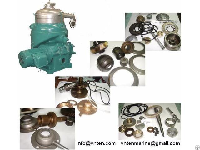 Purifier And Clarifier Parts Alfa Laval Mitsubishi Westfalia Nanjing China