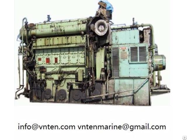 Used 2nd Hand Diesel Engine And Generator Set Yanmar Daihatsu Niigata China