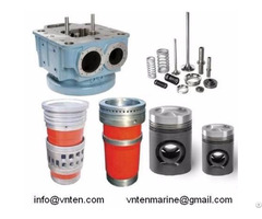 Sell Cylinder Head Linder Piston S E T M Pielstick Hanshin Niigata China